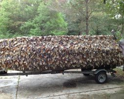 Mud Buddy Boat Blind